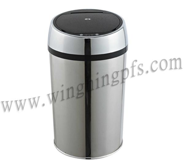 不锈钢感应垃圾桶
